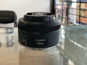 Canon EF 50mm f/1.8 STM Lens for Sale in Oakland Park, FL