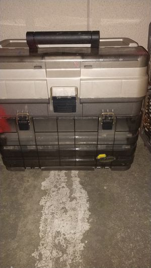 Large fishing tackle box for Sale in Turlock, CA