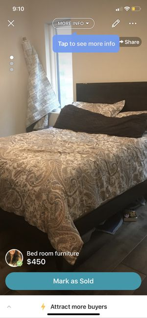 Queen Bedroom Set: Ashley Home Furniture for Sale in Philadelphia, PA