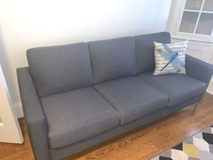 Grey Couches - Love Seat & 3 Seater for Sale in Malden, MA