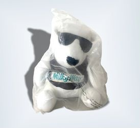 Milky Way Candy Bar Plush Polar Bear 1996 White With Sunglasses Mars 1996 for Sale in Beaverton, OR