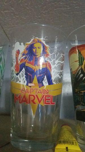 Captain marvel pint glass for Sale in Katy, TX
