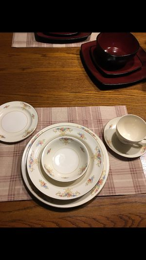 Antique China complete service for 8 for Sale in Rockford, IL