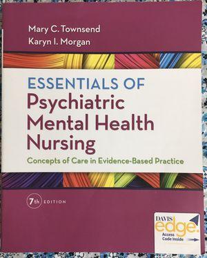 Essentials of Psychiatric Mental Health Nursing for Sale in Bel Air, MD