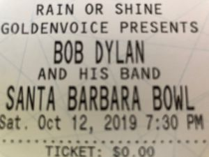 Bob Dylan Tickets x2 for Sale in Morro Bay, CA