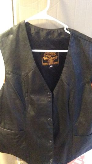 New! Biker Leather Vest for Sale in Mesa, AZ