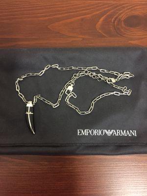 Emporio Armani necklace for Sale in Annandale, VA