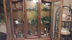 Antique china hutch still excellent condition for Sale in Tualatin, OR