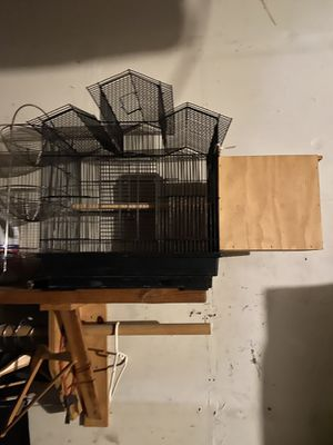 Bird cage with nest $30 for Sale in Santa Ana, CA