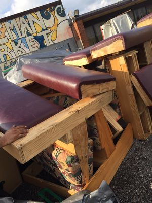 Restaurant or eatery chairs & table for Sale in Detroit, MI