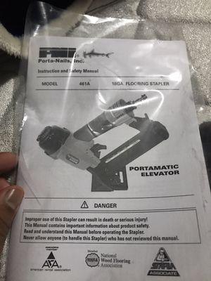 Nail-gun for flooring for Sale in Pomona, CA