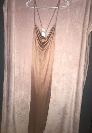 FashionNova Long Silk Dress for Sale in Falls Church, VA
