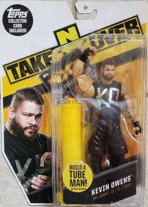 New WWE NXT Kevin Owens Action Figure. for Sale in Apopka, FL