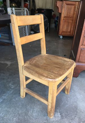 Kids Wood Chair for Sale in Brooks, OR