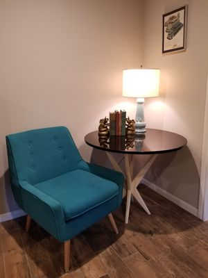 Mid Century stone top table for Sale in Spring, TX