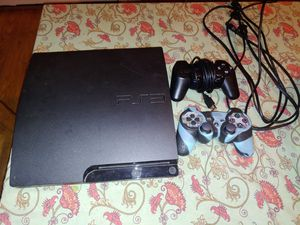 PS3 with 2 controllers and games for Sale in Portland, OR
