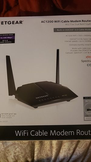 Net gear wifi router for Sale in Margate, FL