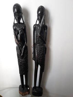 NEW Handcarved wood maasai sculpture from Kenya for Sale for sale  Chicago, IL