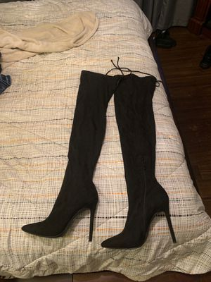 Thigh high boots size 7.5 for Sale in Chula Vista, CA