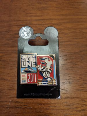 Disney Cruise line Magic, Wonder and Dream 2011 pin with Mickey mouse for Sale in Glendale, AZ