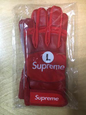 Supreme Baseball Batting Gloves (NEW) LARGE for Sale in Tampa, FL
