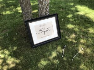 Sit anywhere frame (no glass) for Sale in Pine River, MN