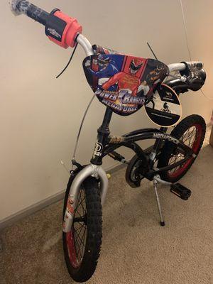 """16"""" boys Power Ranger/Mega Force bike with helmet for Sale in Falls Church, VA"""