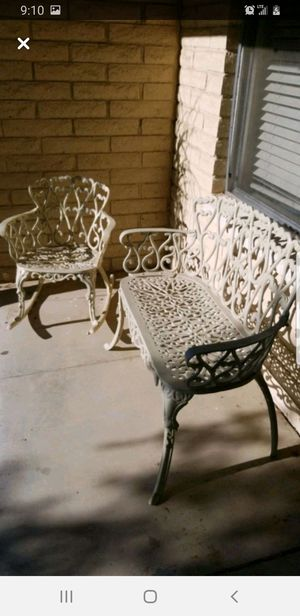 Wroght Iron Patio Set for Sale in Glendale, AZ
