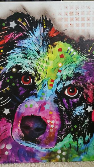 Colorful Aussie Canvas Painting for Sale in Winter Park, FL