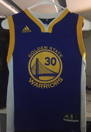 Golden state warriors Stephan Curry jersey for Sale in Kent, WA