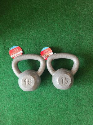 15lb Kettlebells New for Sale in Garden Grove, CA