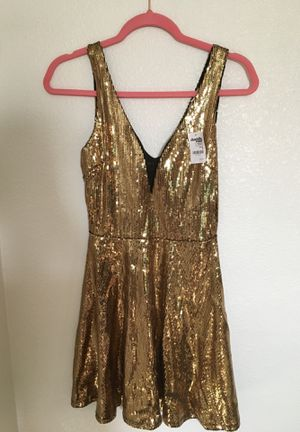 Gold Sequin Dress! for Sale in Henderson, NV