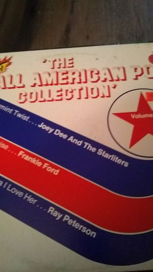 The all American pop collection vinyl record original for Sale in Modesto, CA