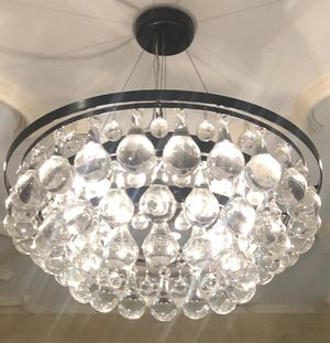 Real glass drops chandelier for Sale in UPPR MARLBORO, MD