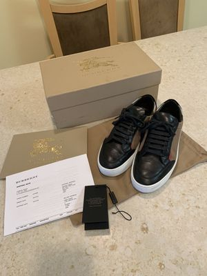 Authentic Burberry sneakers for Sale in San Francisco, CA