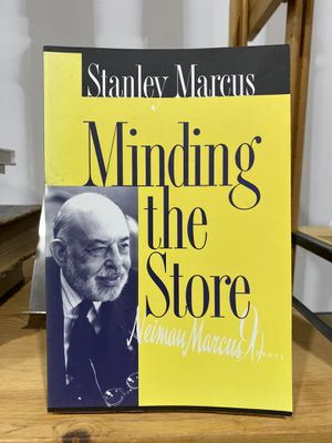 Book: Minding the Store by Stanley Marcus for Sale in St. Cloud, FL