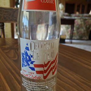Coca-Cola Vintage Mt. Rushmore South Dakota Celebrate The Century Soda Bottle 1989 for Sale in Hurst, TX