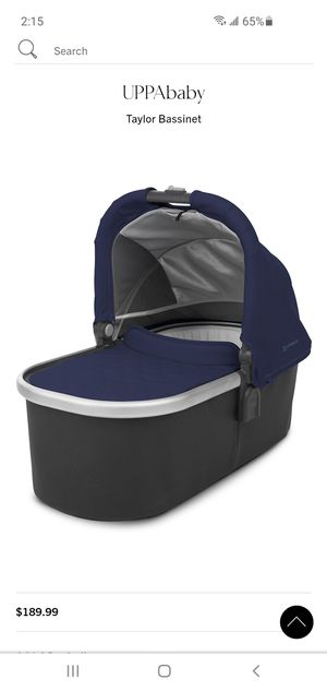 Uppababy Stroller Bassinet For Vista or Cruz for Sale in Mission Viejo, CA