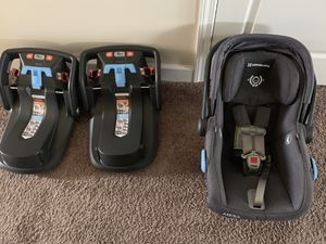 Uppababy Mesa Carseat and Two Bases for Sale in Union City, GA