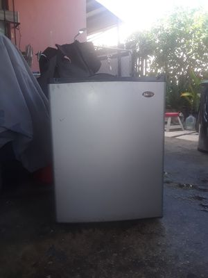 Mini stainless steel refrigerator with freezer for Sale in Miami, FL