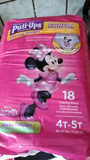 Huggies pull-ups money mouse 2 packs for Sale in Fresno, CA