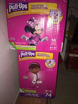 Huggies and pull up diapers for Sale in Philadelphia,  PA