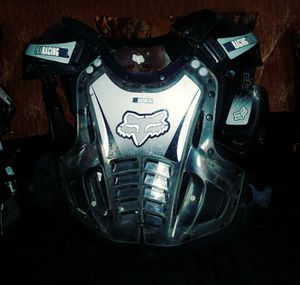 Chest protector motocross 2 for100 large men for Sale in Castroville, CA