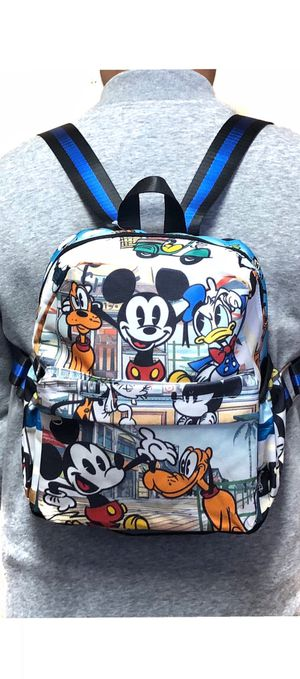 New! Disney Mickey Mouse and friends Mini small backpack Donald Duck Pluto Disneyland Disney world for Sale in Carson, CA