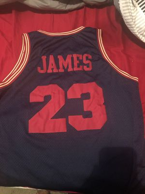 Throwback lebron James Jersey for Sale in Fort Washington, MD