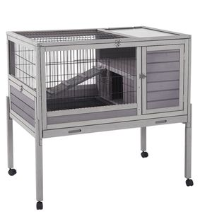Weather Resistant Small Animal wood Hutch with Ramp for Sale in Rancho Cucamonga, CA