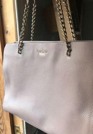 Kate Spade Blush Tote Leather Purse gold chain strap for Sale in Sacramento, CA