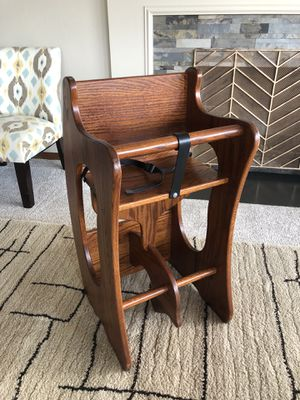Child's 3-in-1 Highchair, Rocker & Desk - Amish Made for Sale in Puyallup, WA