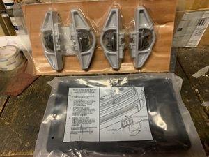 Toyota Tundra Bed Cleat Set and Front License Plate Mount for Sale in Tucson, AZ