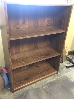 Wooden Bookshelf for Sale in Brentwood, MD